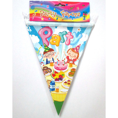 wholesale professional children birthday party bunting string flag