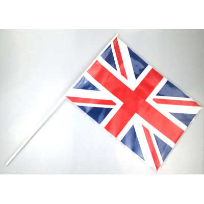 Plastic triangle England bunting string flags