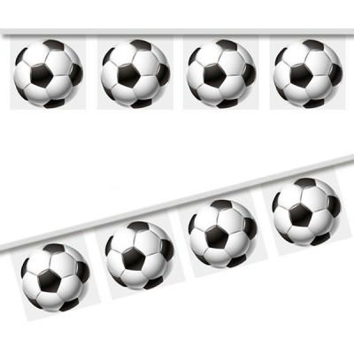 Plastic string football world cup flag