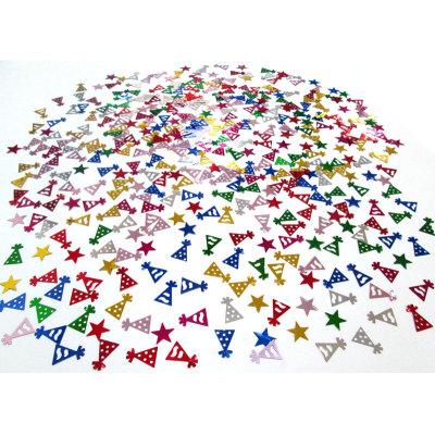 Birthday decoration anniversary favors congratulations table confetti