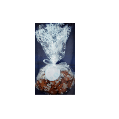Professional Factory For Popular Plastic Christmas Party Snowflake Cello Bag