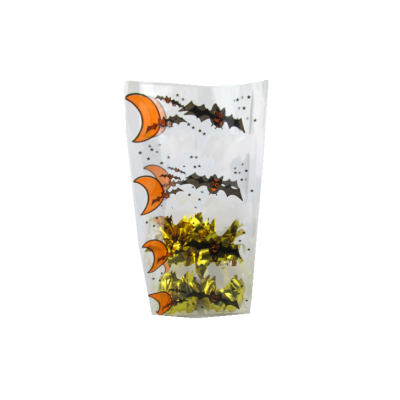 Halloween cello bags for plastic packaging bags for candy