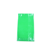 Green Party Solid color print PE Birthday Table cover