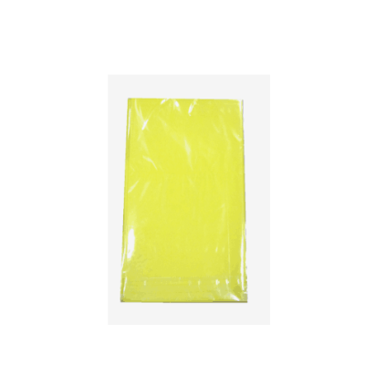 Yellow Party Solid color print PE Birthday Table cover