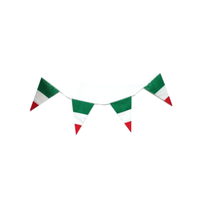 Italy event party Italy decorative flags on string