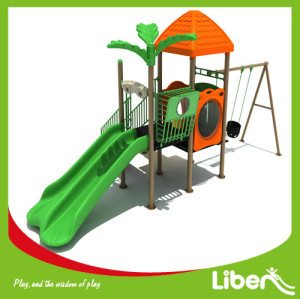 Kids Swing Outdoor Playground Supplier