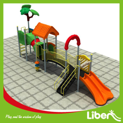 Outdoor Plastic Playground Supplier