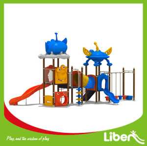 Custom Children LLDPE Playground Equipment Manufacturer