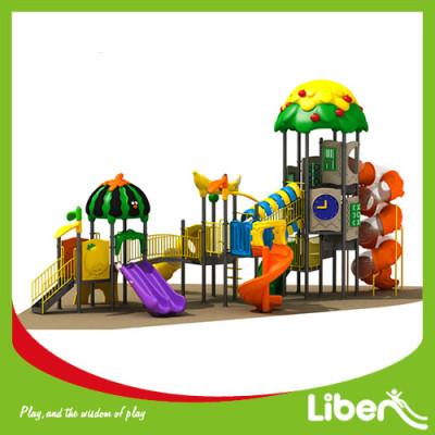 large outdoor playground equipment slide Supplier