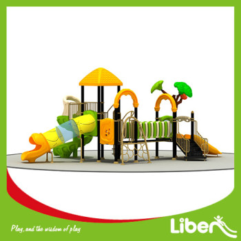 2016 new design forest theme outdoor playground equipment for garden use