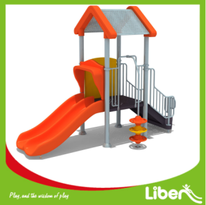 Liben New Designed High Quality Children Plastic Playground Equipment for Outdoor