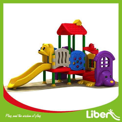 Plastic Toddler Playground Equipment Manufacturer