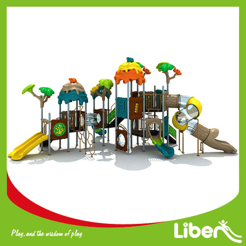 PVC Coated School Playground Equipment For Sale
