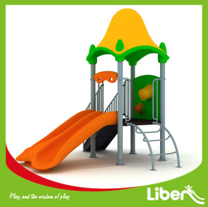 Chinese Specialized Outdoor Plastic Playground Producer