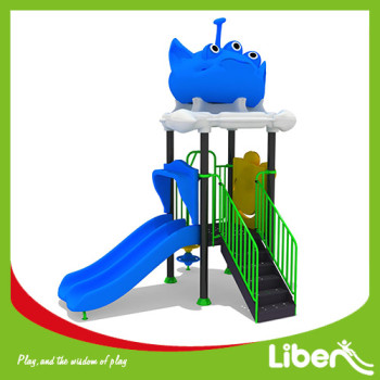 Customized Plastic Outdoor Playground Manufacturer
