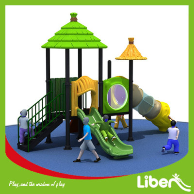 Used Outdoor Plastic Playground Manufacturer