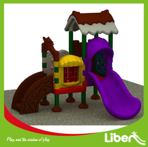 Outdoor Plastic Playground Equipment Manufacturer