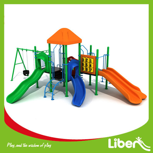 Outdoor Kids Plastic Playground Manufacturer