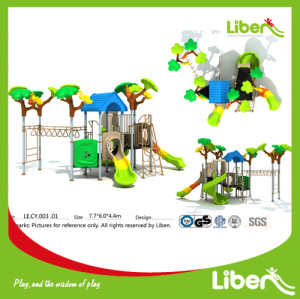 Children Top Park Outdoor Plastic Slide Manufacturer