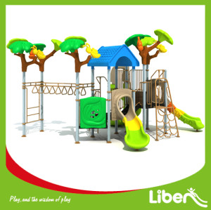 Children Attractive Park Outdoor Plastic Play Station Manufacturer