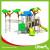 Children Attractive Park Outdoor Plastic Play Station Manufacturer