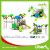 Children Attractive Park Outdoor Plastic Play Station Supplier