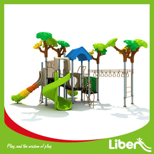 Children Attractive Park Outdoor Plastic Play Station Supplier