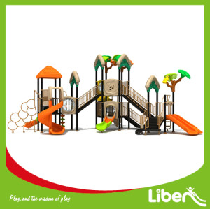 Children Attractive Park Outdoor Plastic Play System Manufacturer