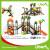 Children Attractive Park Outdoor Plastic Play System Manufacturer