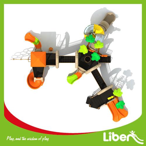Children Attractive Park Outdoor Plastic Play Structure Manufacturer