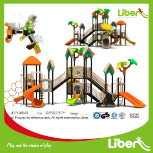 Children Attractive Park Outdoor Plastic Play Structure Manufacturer