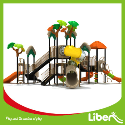 Children Attractive Park Outdoor Plastic Play Equipment Manufacturer