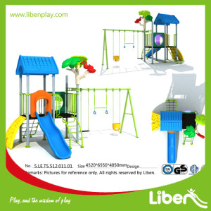 Funny Park Outdoor Plastic school playground Factory