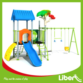 Funny Park Outdoor Plastic school playground equipment manufacturer China