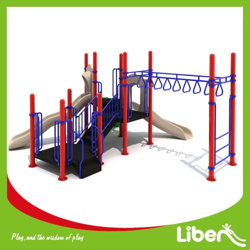 Kids Outdoor Plastic Slide Playground manufacturer
