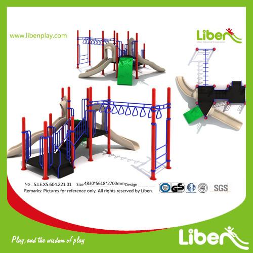 Kids Outdoor Monkey Bar Structure manufacturer