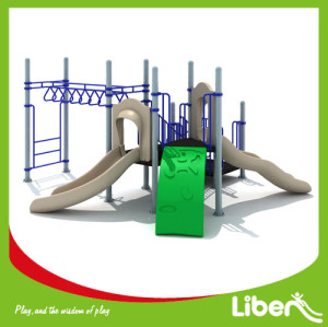 plastic kids outdoor play equipment builder