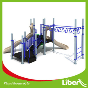 kids plastic outdoor park equipment factory