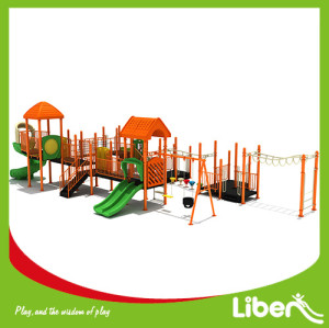 Professional Kids Outdoor Play Gym Supplier