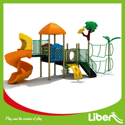 Long Outdoor Playground Nature Forest Theme Playground