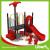 Red Bright Color Playground Kompan Style Kids Playground