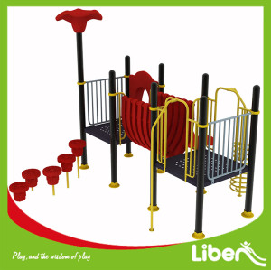 Climbing-N-Slide No Roof Shade Plastic Playground