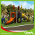 Supplier outdoor playgrounds kids spiral slide