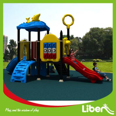 Supplier outdoor playground equipment slides