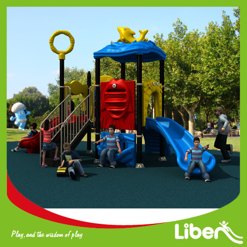 Supplier outdoor playground equipment slides