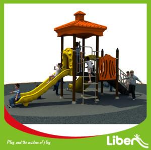 Supplier big outdoor plastic slide