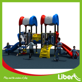 Professioanl china popular outdoor playground equipment with visible tube for children