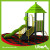 Liben Play Attractive Homemade Outdoor Playground with Rubber Mat Flooring