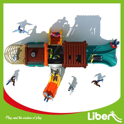 Steam Train Series Children Used Giant Digital Playground Equipment for Sale