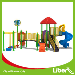 Pursuing Kid's Happiness Playground Cimbination Slide by Holland Akzo Color